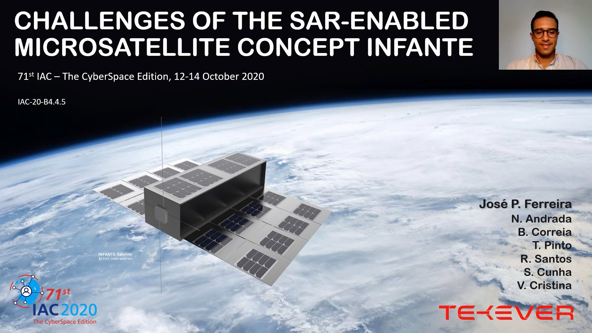 The INFANTE project presented at the IAC 2020